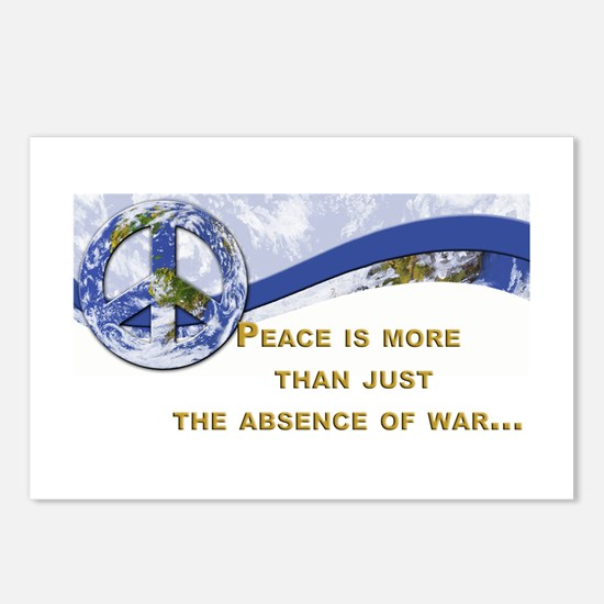 Peace is About More.,.. Postcards (Package of 8)