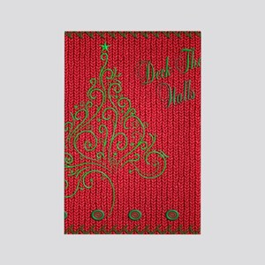 Knit_Red_DeckTW_ipadSkin Rectangle Magnet