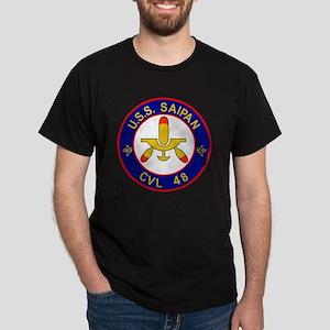 CVL-48 USS SAIPAN Multi-Purpose Light Dark T-Shirt