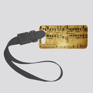 music coin purse Small Luggage Tag