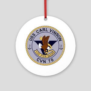 CVN-70 CARL VINSON Multi-Purpose Nu Round Ornament