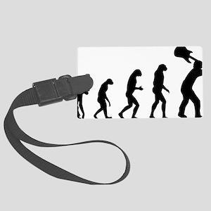 evolutionrock2 Large Luggage Tag