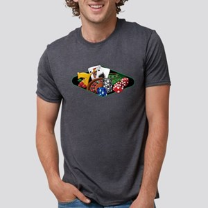 Casino Games Collage T-Shirt