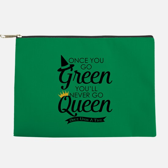 Once You Go Green Makeup Pouch