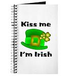 Kiss Me I'm Irish Hat Journal