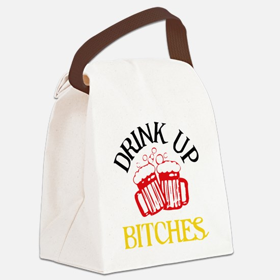 drinkup4 Canvas Lunch Bag