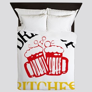 drinkup4 Queen Duvet
