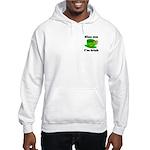 Kiss Me I'm Irish Hat Hooded Sweatshirt
