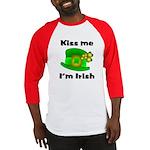 Kiss Me I'm Irish Hat Baseball Jersey