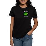 Kiss Me I'm Irish Hat Women's Dark T-Shirt
