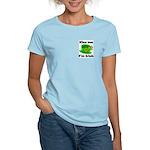 Kiss Me I'm Irish Hat Women's Light T-Shirt