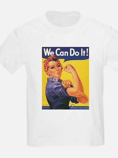 Women We Can Do It Kids T-Shirt
