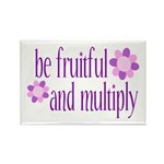 be fruitful and multiply Rectangle Magnet