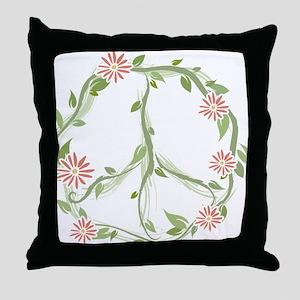 GreenPeace Throw Pillow