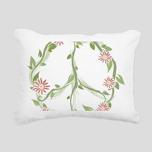 GreenPeace Rectangular Canvas Pillow