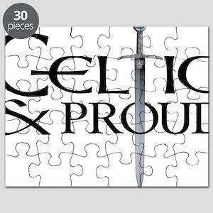 Celtic  Proud Sword logo Blk Puzzle