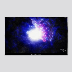 Blue Nebula Sonata - 23x35 3'x5' Area Rug