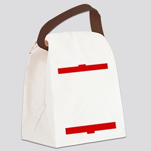 To err is human Canvas Lunch Bag