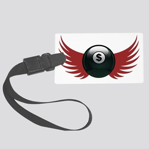 moneyball-8-T Large Luggage Tag