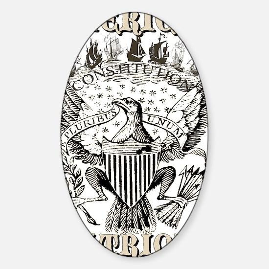 E Pluribus Unum 2 Sticker (Oval)