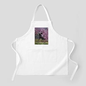 dressage horse 8x11 Apron