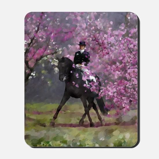 dressage horse 8x11 Mousepad
