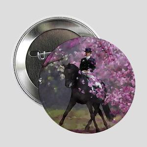 "dressage horse 8x11 2.25"" Button"