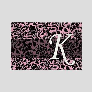 K_bags_monogram_04 Rectangle Magnet