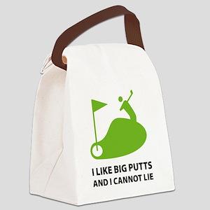 bigPutts4 Canvas Lunch Bag