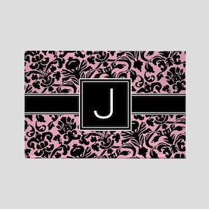 J_bags_monogram_02 Rectangle Magnet