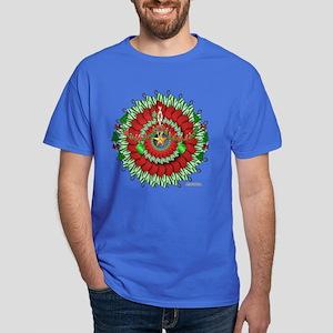 Stocking Wreath Dark T-Shirt