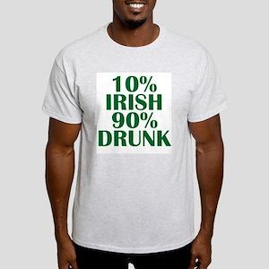 10% Irish Light T-Shirt