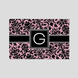 G_bags_monogram_02 Rectangle Magnet