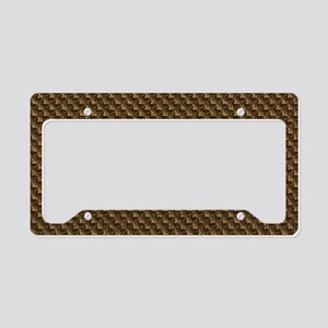 bronzescalecb License Plate Holder