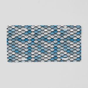 aquamarinecb Aluminum License Plate