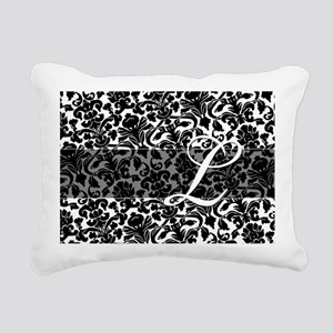 L_bags_monogram_03 Rectangular Canvas Pillow