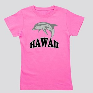Hawaii Dolphin Girl's Tee