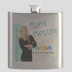 Tweed Number 1 Pick Flask
