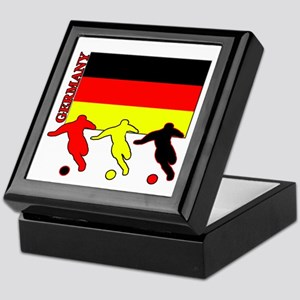 Germany Soccer Keepsake Box
