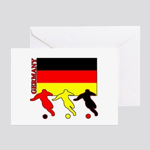 Germany Soccer Greeting Cards (Pk of 10)