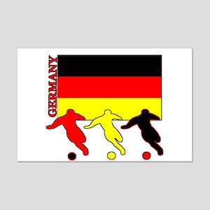 Germany Soccer Mini Poster Print