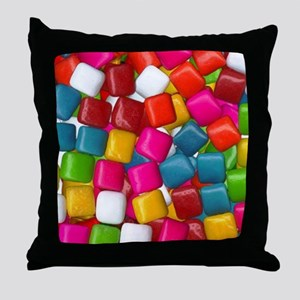 chicklets Throw Pillow