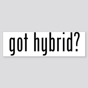 got hybrid? Bumper Sticker