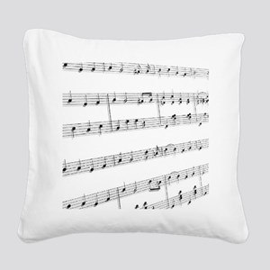 sheet music Square Canvas Pillow
