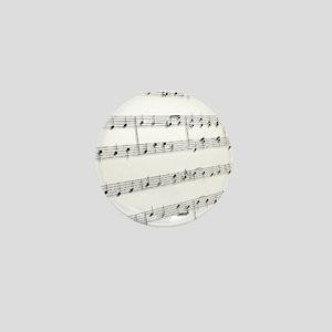 sheet music Mini Button