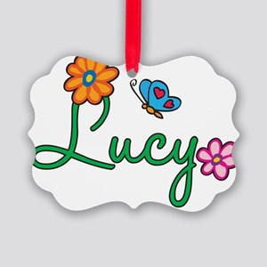 Lucy Picture Ornament