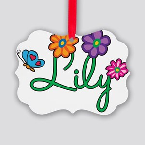 Lily Picture Ornament