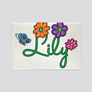 Lily Rectangle Magnet