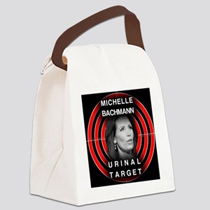 michelle  bachman Canvas Lunch Bag