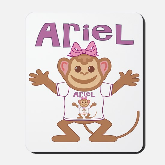 ariel-g-monkey Mousepad